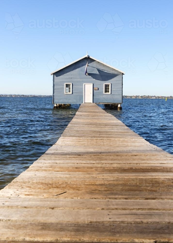 Boat Shed - Australian Stock Image