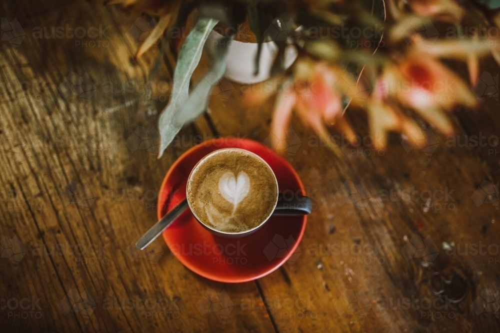 Coffee in a cup - Australian Stock Image