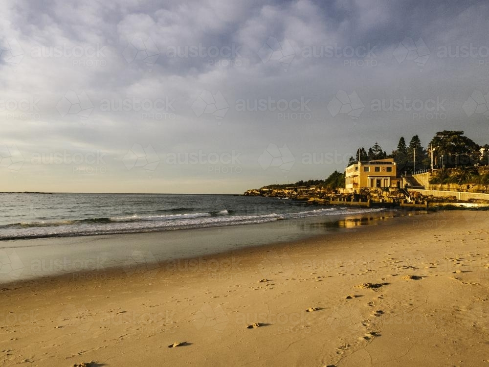 Coogee Morning - Australian Stock Image