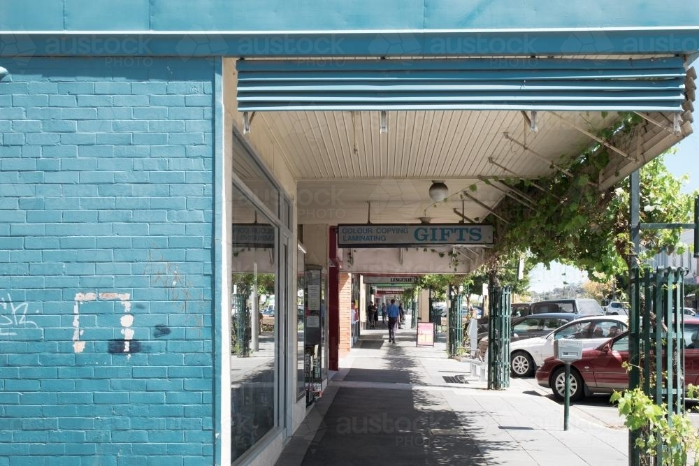 Country town streetscape - Australian Stock Image