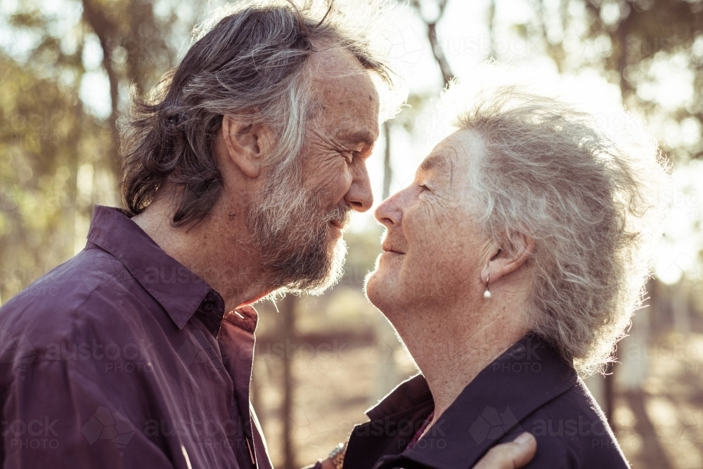 Elderly couple together - Australian Stock Image