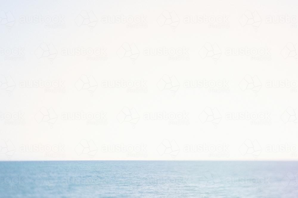 Horizon on the sea - Australian Stock Image
