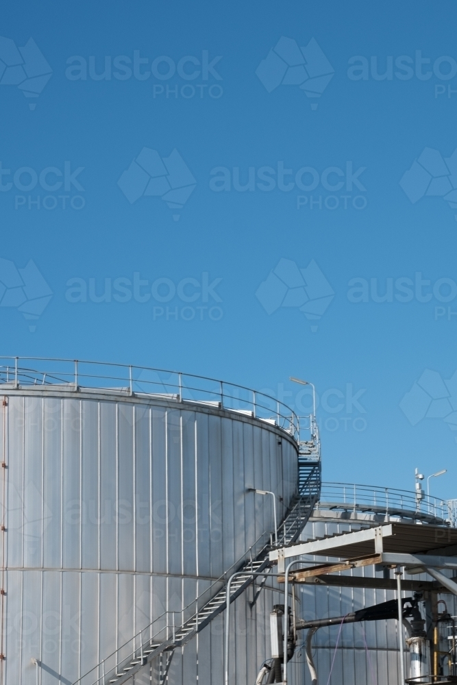 Oil and Gas Refinery - Australian Stock Image