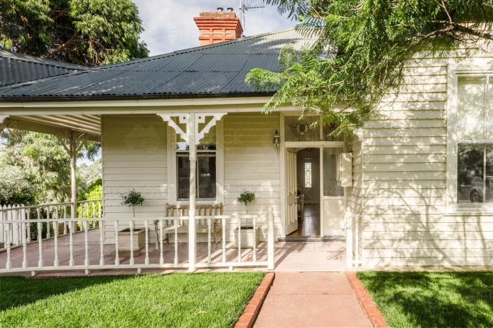 old Victorian era home - Australian Stock Image