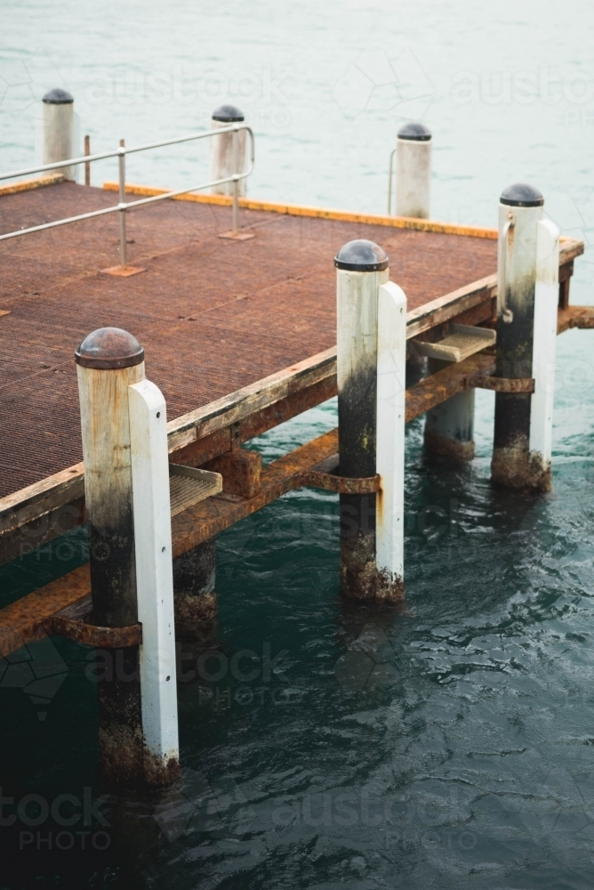 Pier at Port Campbell - Australian Stock Image