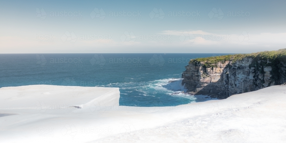 Image Of Wedding Cake Rock In The Royal National Park Austockphoto