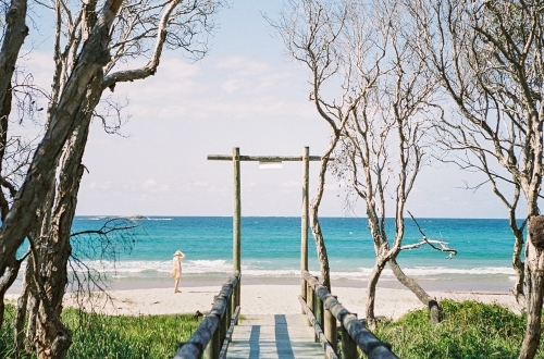Pathway To The Beach