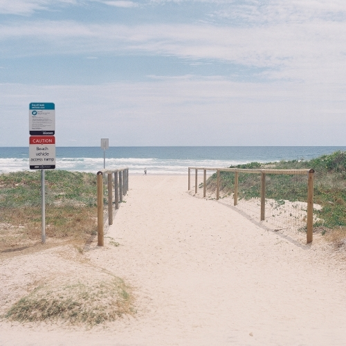 Entry to Gold Coast Beach