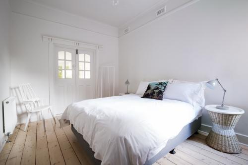 Danish styled modern bedroom decor in art decor apartment