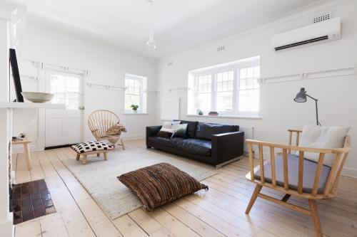 Renovated old and spacious apartment with beautiful Scandi contemporary styling