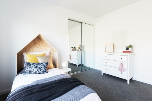 Gorgeous young girl's bedroom beautifully styled