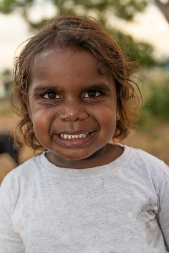 4 year old Aboriginal boy