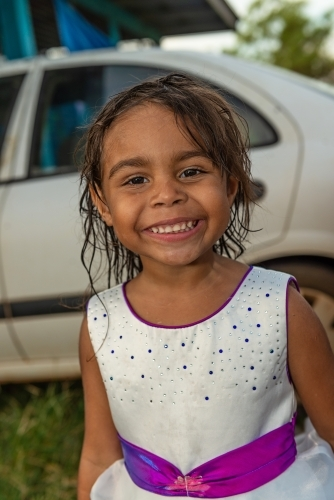 4 year old Aboriginal girl