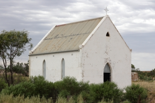 A small, old unused church