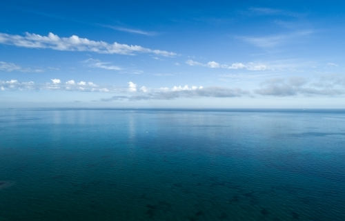 A view of the horizon over water