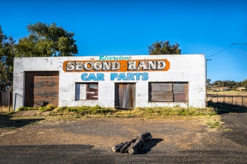 Abandoned Car Parts Shop