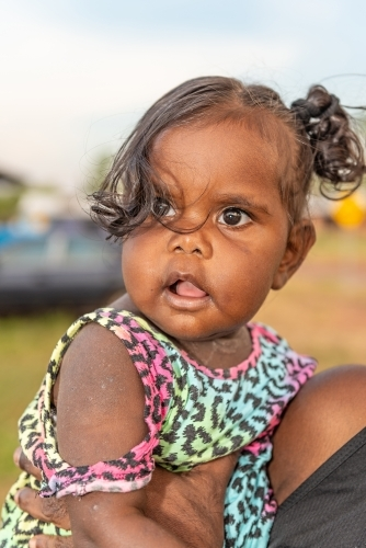Aboriginal toddler