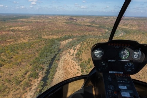 Aerial view over Nitmiluk (Katherine) Gorge