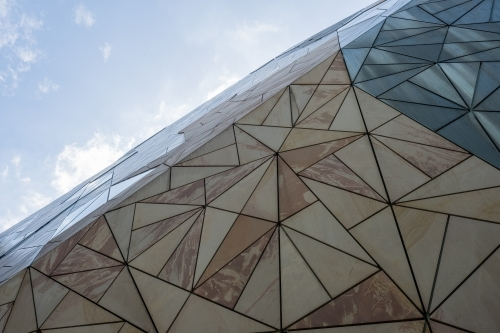 Detail of buildings in Federation Square