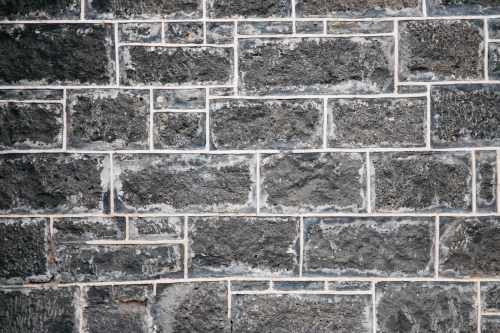 Heritage blue stone wall
