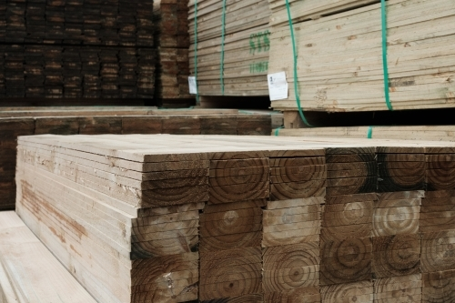 Trade Timber for house construction