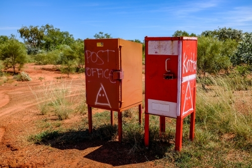 Australian outback post office