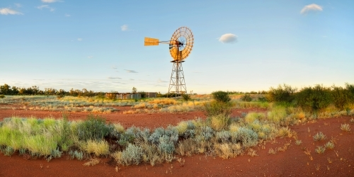 Australian windmill in the outback, Northern Territory