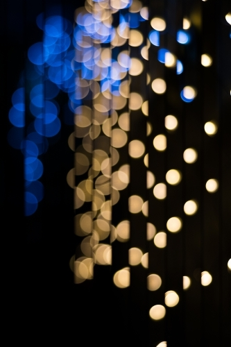 Background of bokeh lights