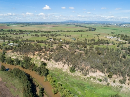Bends in the Hunter river