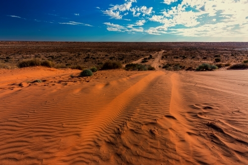 Big Red expanse of Simpson Desert