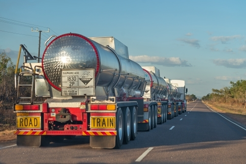 Chemical Road train