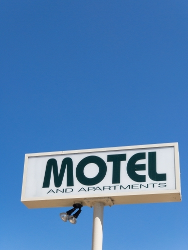 Classic Vintage MOTEL sign