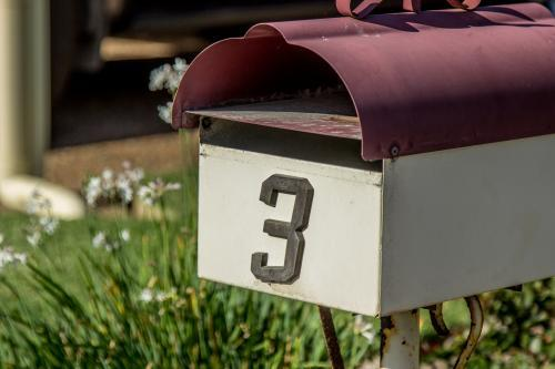 Mail box in town number 3