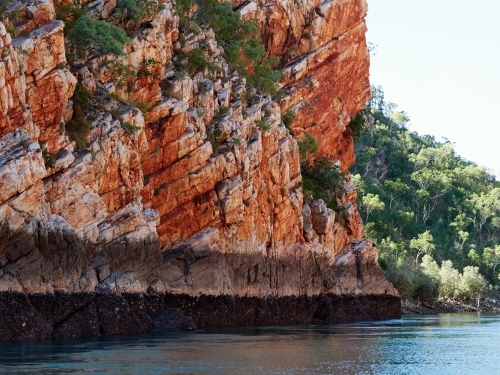 Cliff Face in Talbot Bay