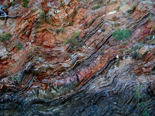 Cliff Face on Talbot Bay in Buccaneer Archipelago, WA