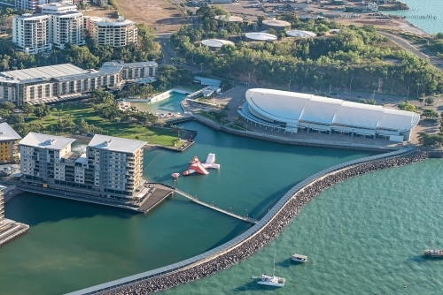 Darwin Waterfront from above