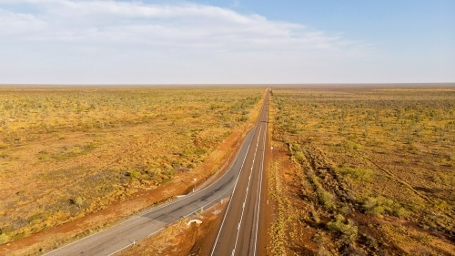 Drone images of remote area in Western Australia