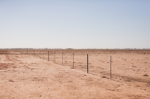 Drought Landscape in Outback Queensland