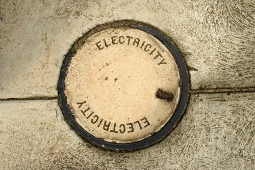 Cover to underground electricity access