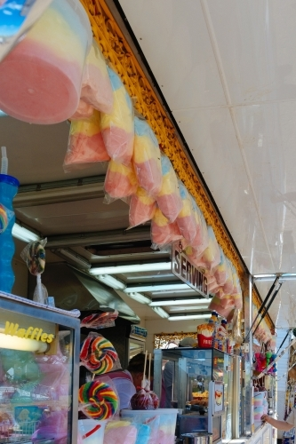 Fairy Floss stall at country show