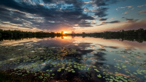 Lake Jabiru Sunset