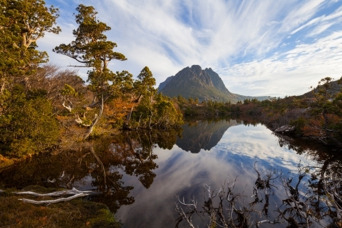Little Horn from Twisted Lakes - Cradle Mtn Lake St Clair N.P - Tasmania