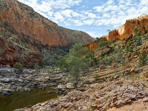 Ormiston Gorge and pound at the West MacDonnell Ranges