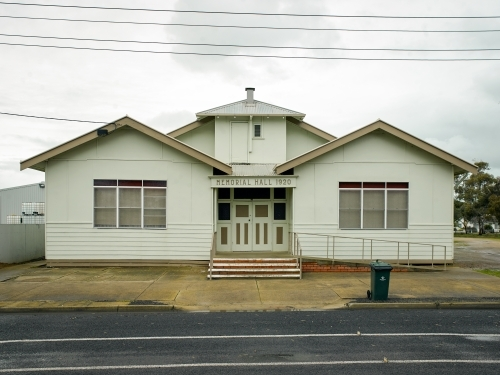 Memorial Hall in country town