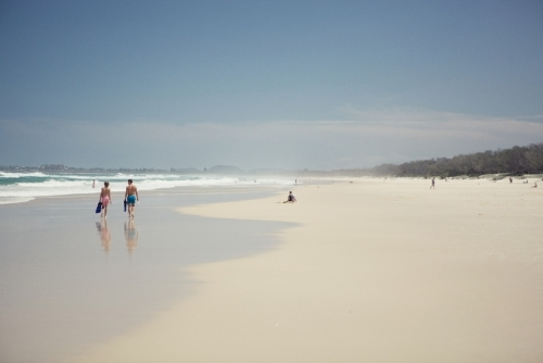 People at the Beach in Northern New South Wales