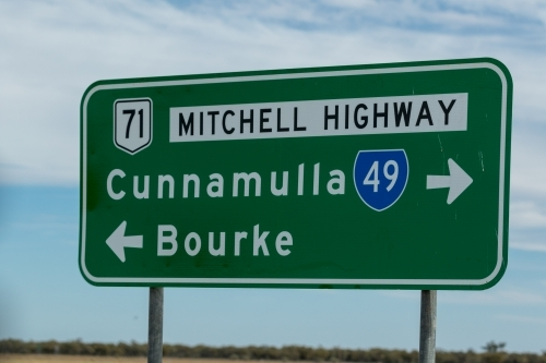 Mitvhell Highway Sign