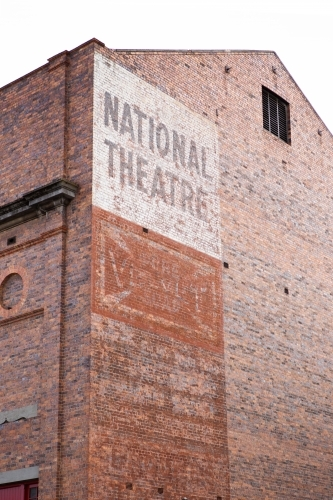National Theatre Ghost Sign