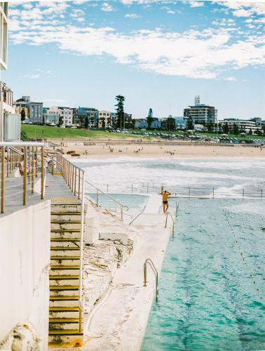 Ocean Pool overlooking Bondi Beach