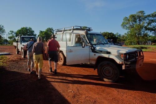 Off on tour in Arnhem Land, Northern Territory