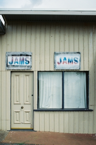 Old Jam Shop in rural town